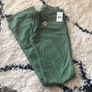 NWT AG green Jeans SOFT!!